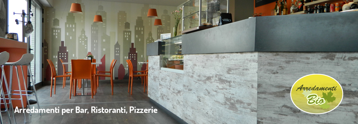 Arredamento bar ristoranti pizzerie